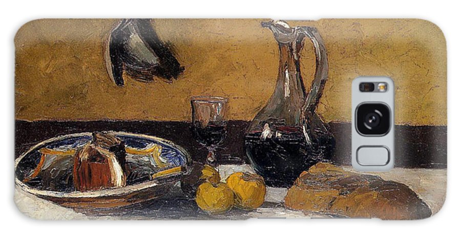 Still Life Nature Morte Camille Pissarro Galaxy S8 Case featuring the painting Still Life Nature Morte by Camille Pissarro
