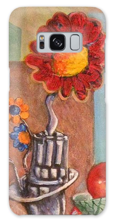 Still Life Galaxy S8 Case featuring the painting Still Life Reconstructed by Dennis Tawes