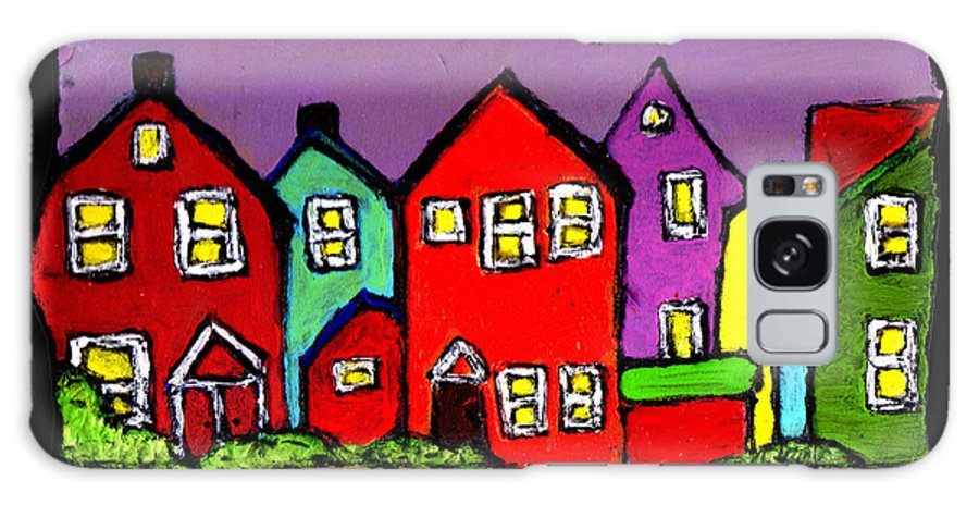 Houses Galaxy S8 Case featuring the painting Still Standing by Wayne Potrafka
