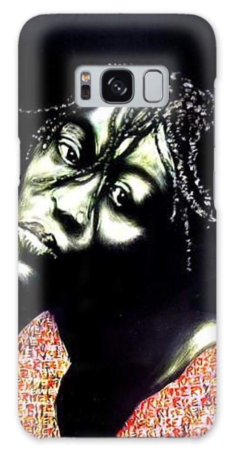 Galaxy S8 Case featuring the mixed media Still We Rise by Chester Elmore