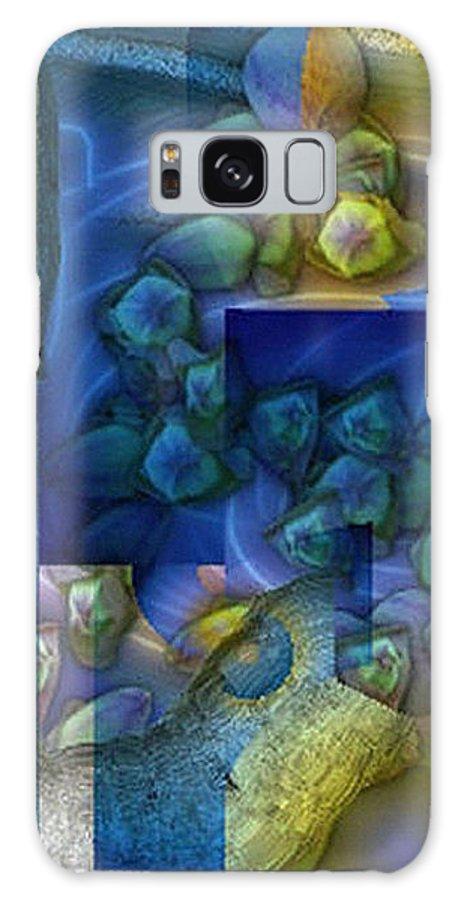Digital Galaxy Case featuring the digital art Stilleben by Ilona Burchard