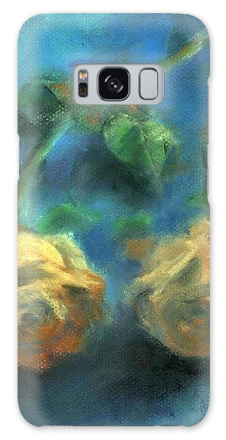 Still Life Galaxy S8 Case featuring the painting Stillness Of Love by Suryadas Joel Holliman