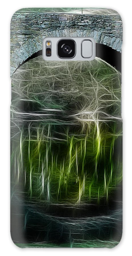 Bridge Galaxy S8 Case featuring the photograph Stone Arch Bridge - Ny by Ericamaxine Price