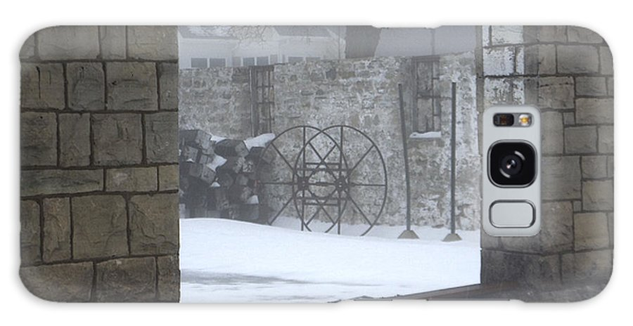 Winter Galaxy Case featuring the photograph Stone Cellar by Tim Nyberg