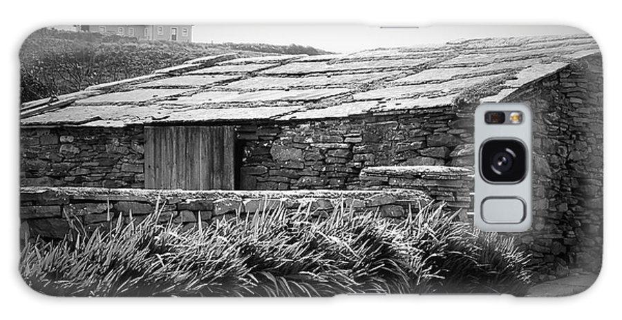 Irish Galaxy S8 Case featuring the photograph Stone Structure Doolin Ireland by Teresa Mucha