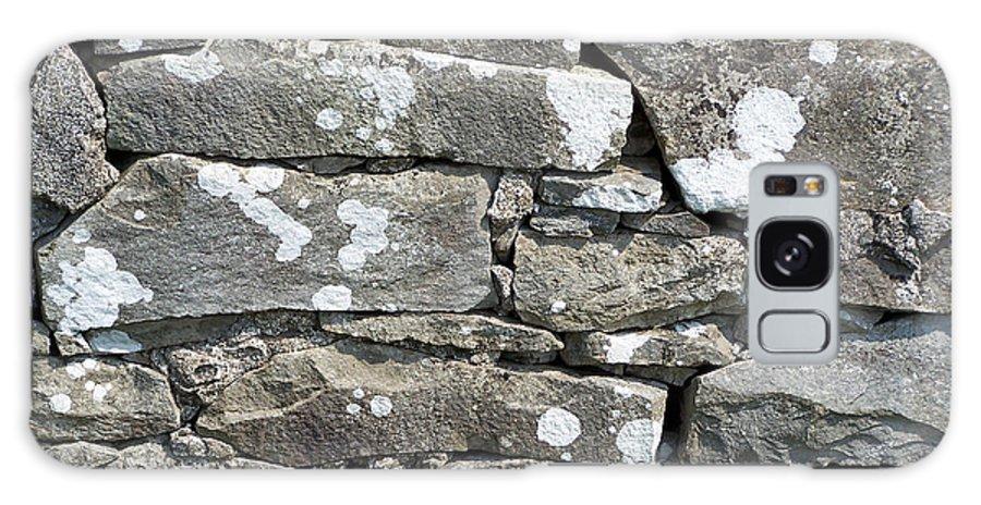 Irish Galaxy S8 Case featuring the photograph Stone Wall Detail Doolin Ireland by Teresa Mucha