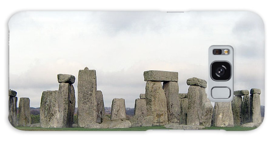 Stonehenge Galaxy S8 Case featuring the photograph Stonehenge by Amanda Barcon