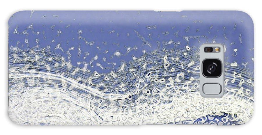 Digital Art Galaxy S8 Case featuring the digital art Storm At Sea by Bonnie Bruno