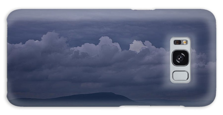 Roanoke Galaxy S8 Case featuring the photograph Storm Clouds Over The Valley by Teresa Mucha