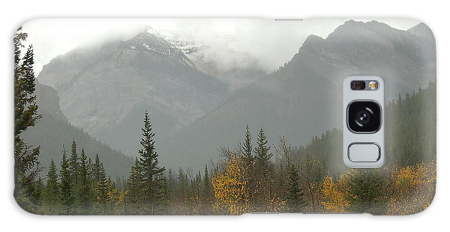Misty Galaxy Case featuring the photograph Storm In The Mountains by D Nigon
