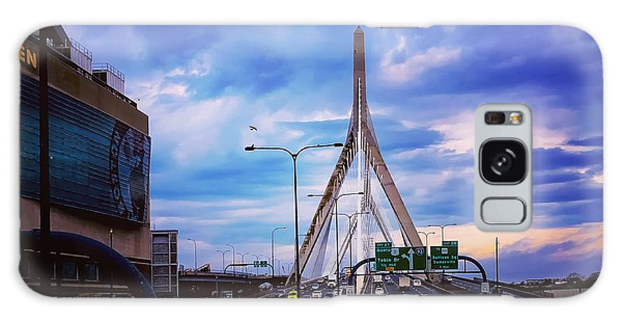 Landscape Galaxy S8 Case featuring the photograph Stormy Zakim by Timothy Welch