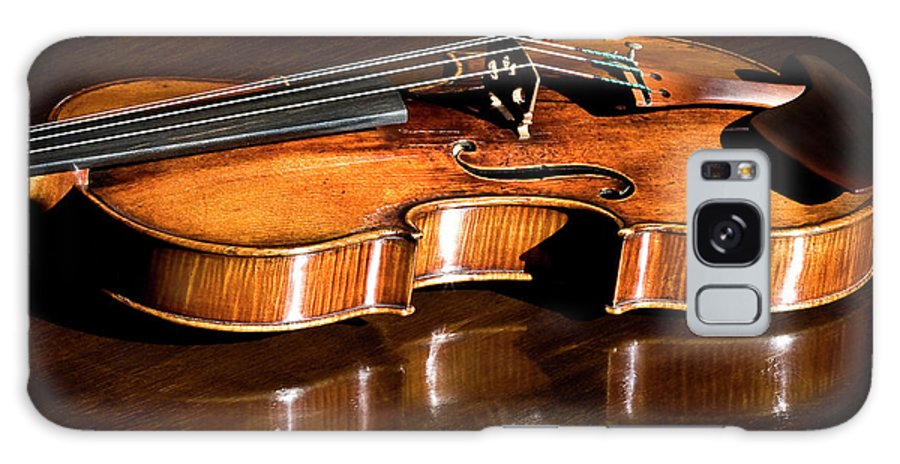 Strad Galaxy S8 Case featuring the photograph Stradivarius In Sunlight by Endre Balogh