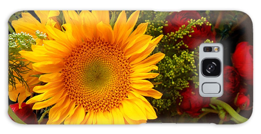 Sunflower Galaxy S8 Case featuring the photograph Straight No Chaser by RC DeWinter