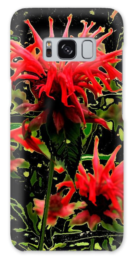 Abstract Galaxy S8 Case featuring the photograph Strange Garden by Ian MacDonald