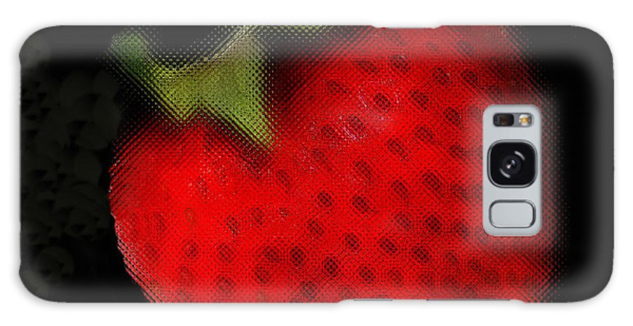 Still Life Galaxy Case featuring the photograph Strawberry by Linda Sannuti