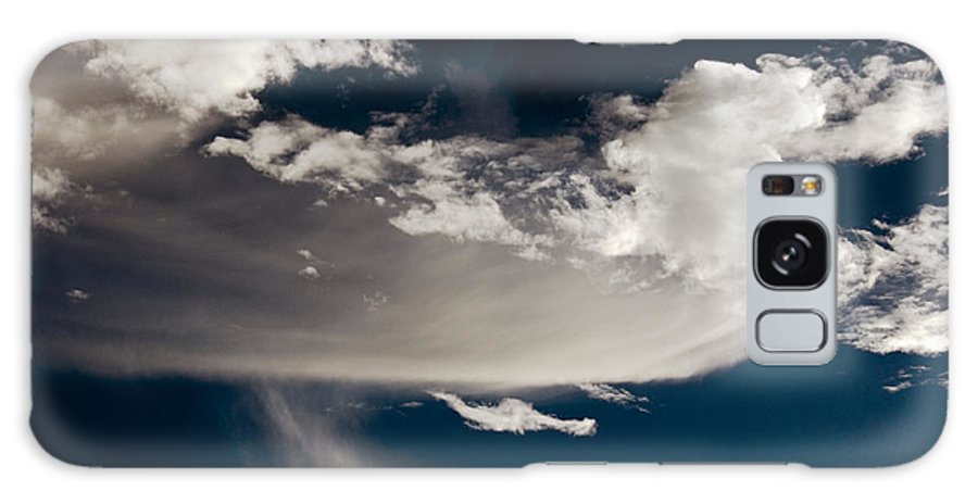 Clay Galaxy S8 Case featuring the photograph Streakin' Cloud by Clayton Bruster