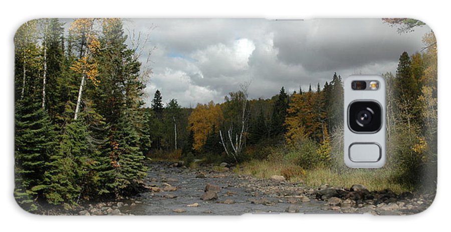 Nature Galaxy Case featuring the photograph Stream At Tettegouche State Park by Kathy Schumann