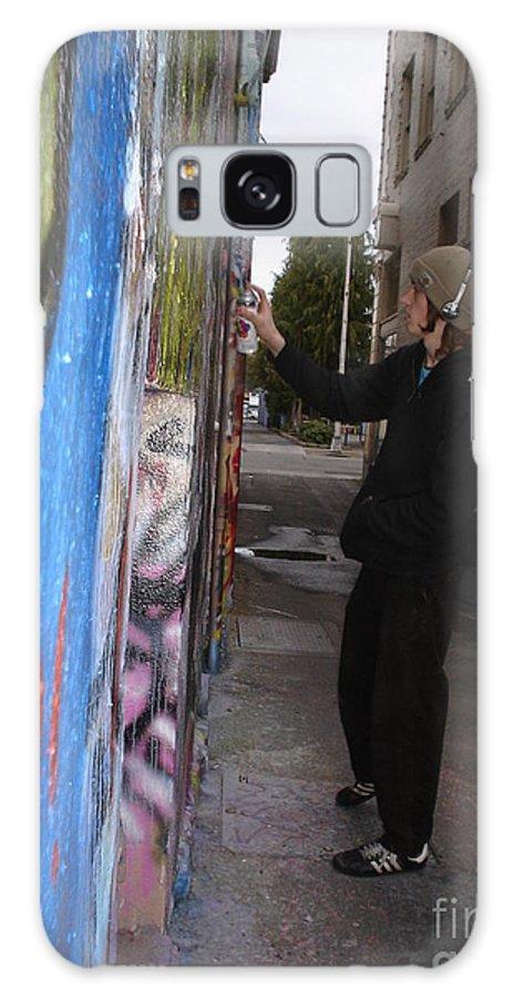 Urban Art Galaxy S8 Case featuring the photograph Street Art by Chandelle Hazen