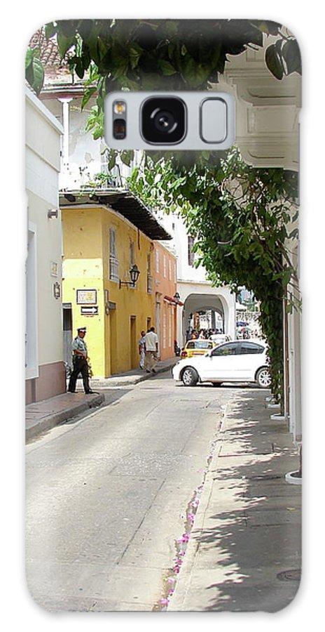 Street Galaxy S8 Case featuring the photograph Street In Colombia by Brett Winn