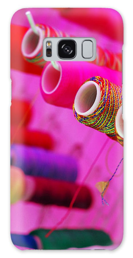 Color Galaxy S8 Case featuring the photograph String Theory by Skip Hunt