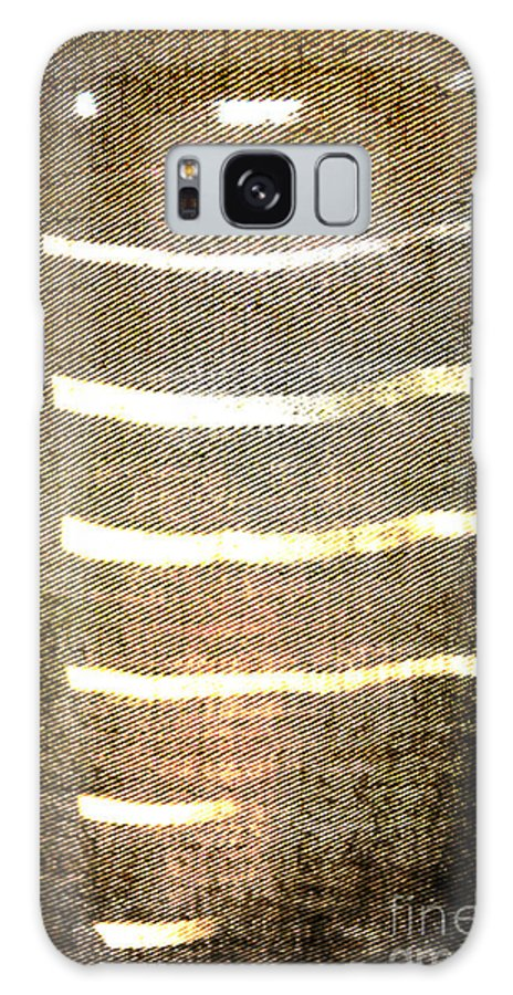 Abstract Galaxy S8 Case featuring the photograph Stripes And Texture by Todd Blanchard