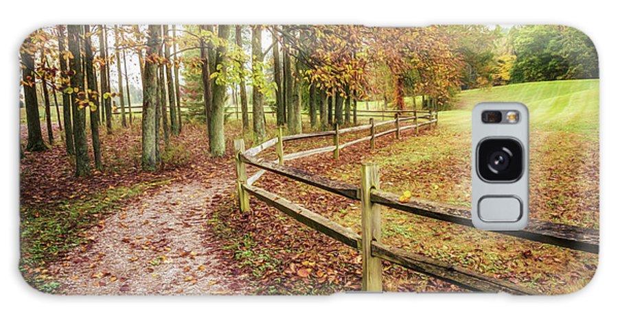 Dawes Galaxy S8 Case featuring the photograph Strolling Through Autumn by Tom Mc Nemar