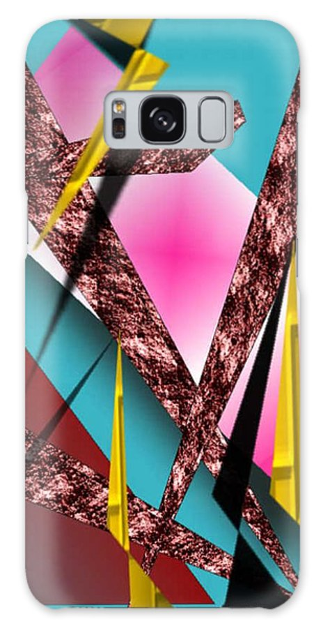 Abstracts Galaxy S8 Case featuring the digital art Structure by Brenda L Spencer
