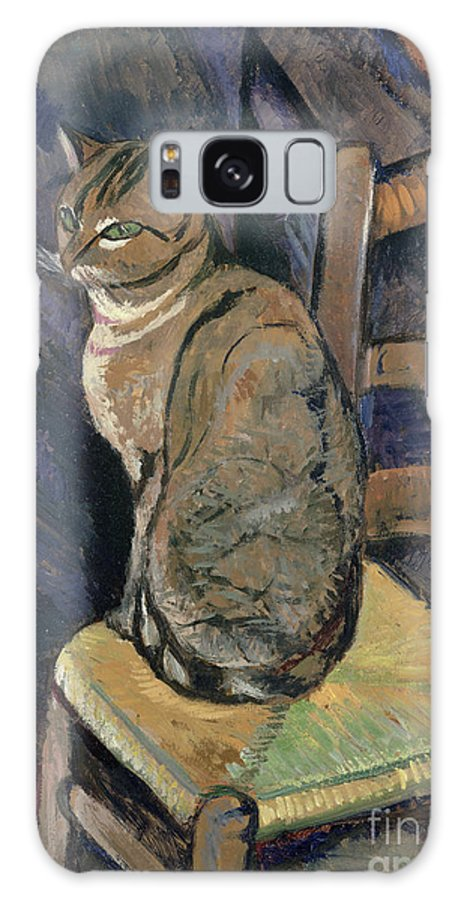 Study Galaxy S8 Case featuring the painting Study Of A Cat by Suzanne Valadon