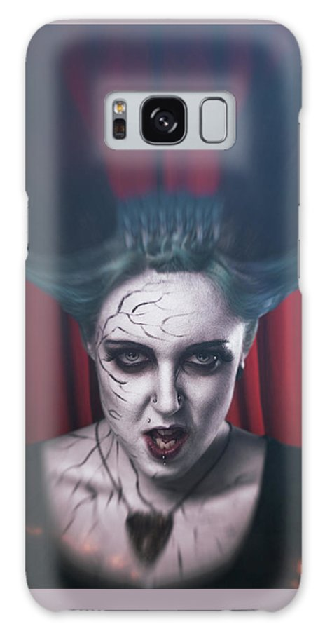 Galaxy S8 Case featuring the digital art Succubus by Clinton Lofthouse