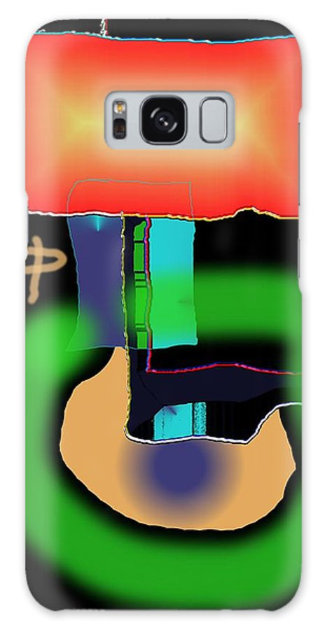 Mouse Galaxy S8 Case featuring the digital art Suddenclicks by Helmut Rottler