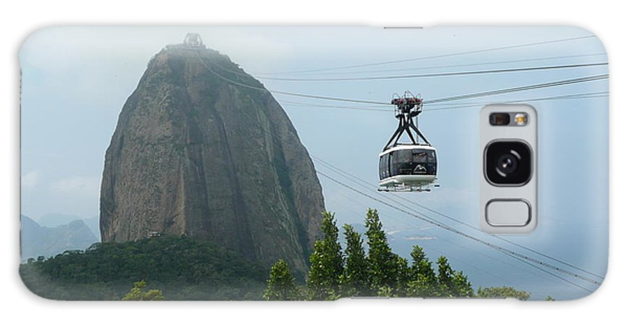 Brazil Galaxy S8 Case featuring the photograph Sugar Loaf Mtn Brazil by Kathy Schumann