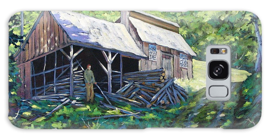 Sugar Shack Galaxy S8 Case featuring the painting Sugar Shack In July by Richard T Pranke