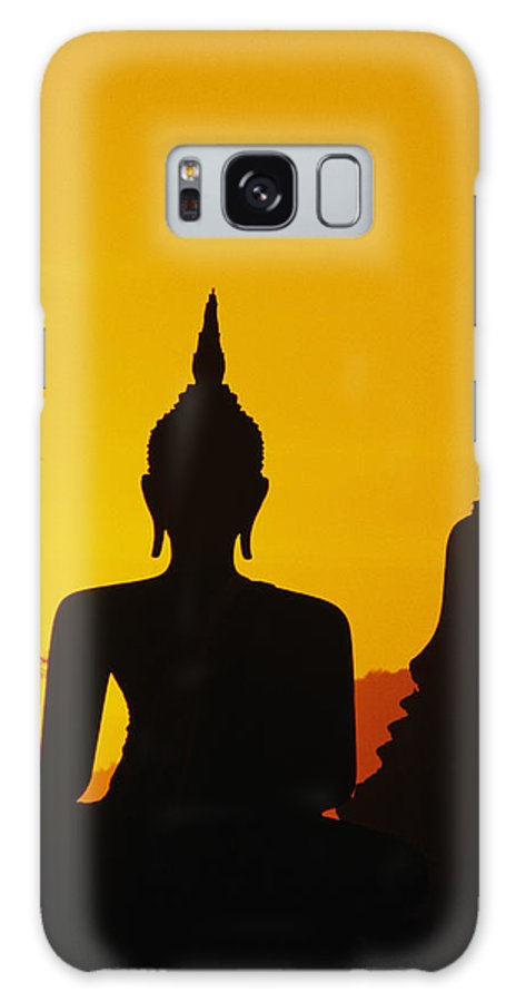 Ancient Galaxy S8 Case featuring the photograph Sukhothai Temple by Gloria & Richard Maschmeyer - Printscapes
