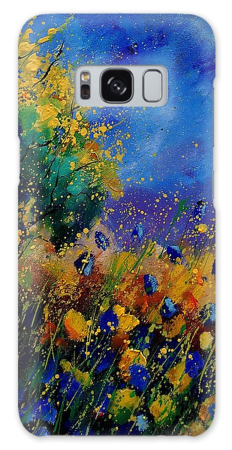Poppy Galaxy S8 Case featuring the painting Summer 459090 by Pol Ledent