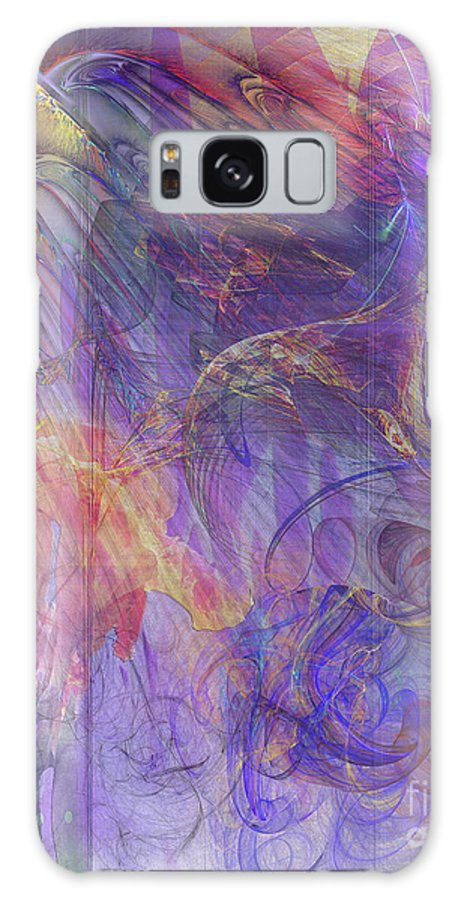 Summer Awakes Galaxy S8 Case featuring the digital art Summer Awakes by John Beck