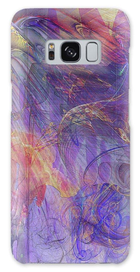 Summer Awakes Galaxy S8 Case featuring the digital art Summer Awakes by John Beck