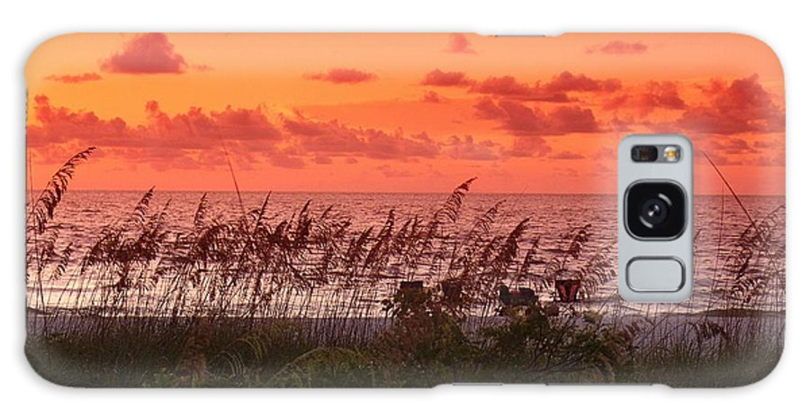 Sunset Galaxy S8 Case featuring the photograph Summer Ends In Color by Florene Welebny