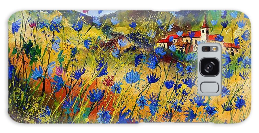 Flowers Galaxy S8 Case featuring the painting Summer Glory by Pol Ledent