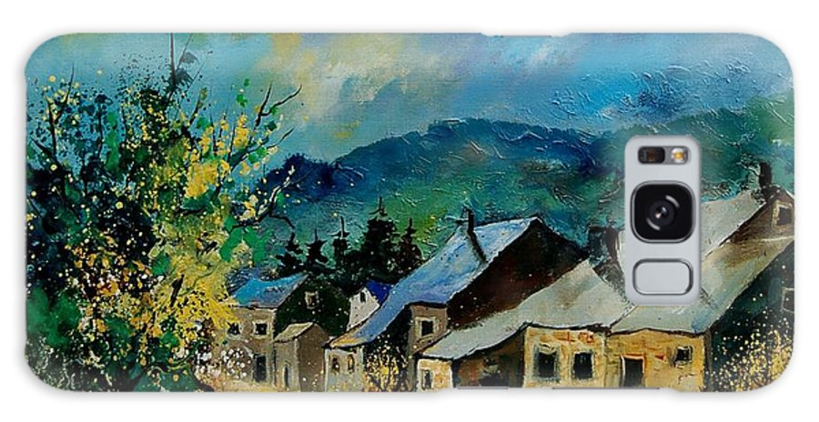 Poppies Galaxy S8 Case featuring the painting Summer In Mogimont by Pol Ledent