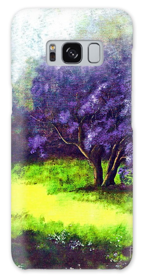 Fine Art Print Galaxy S8 Case featuring the painting Summer Mist by Patricia Griffin Brett