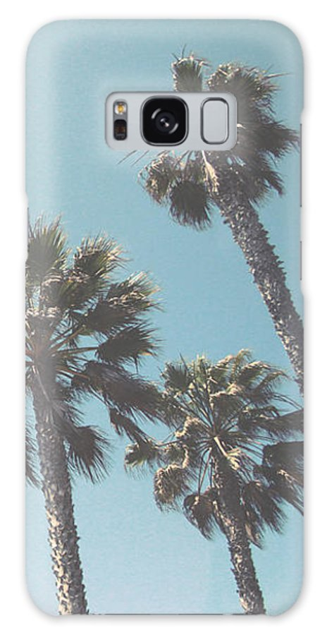 Palm Trees Galaxy S8 Case featuring the photograph Summer Sky- By Linda Woods by Linda Woods