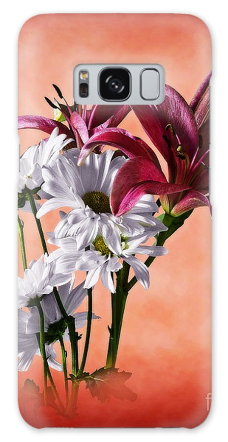 Botanical Galaxy S8 Case featuring the photograph Summer Wild Flowers by Ed Churchill