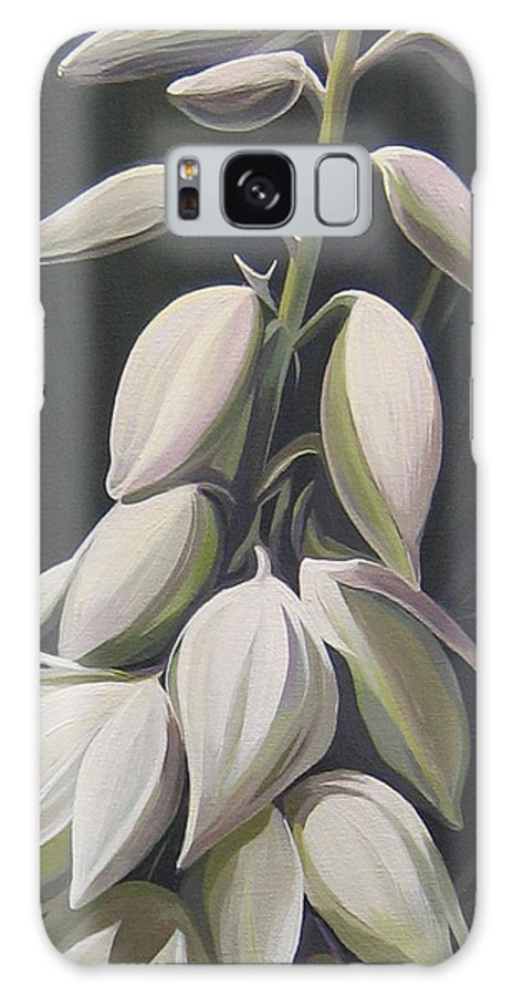 Yucca Plant Galaxy S8 Case featuring the painting Summersilver by Hunter Jay