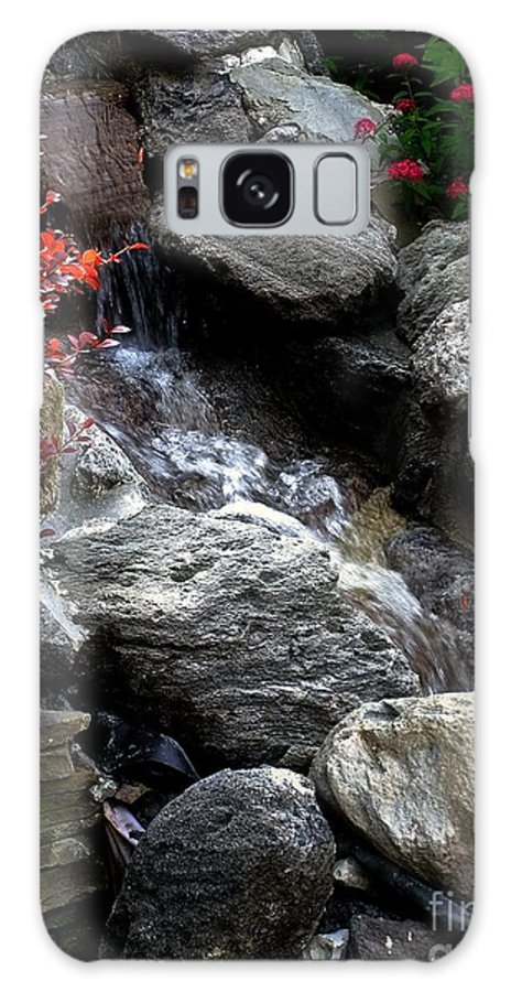 Waterfall Galaxy S8 Case featuring the photograph Summersplash by RC DeWinter