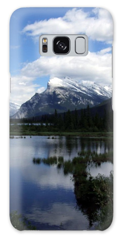 Landscape Galaxy S8 Case featuring the photograph Summertime In Vermillion Lakes by Tiffany Vest