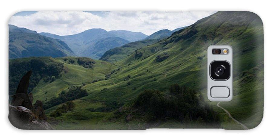 Landscape Galaxy S8 Case featuring the photograph Summit View To Scaffell by Harvey Smith
