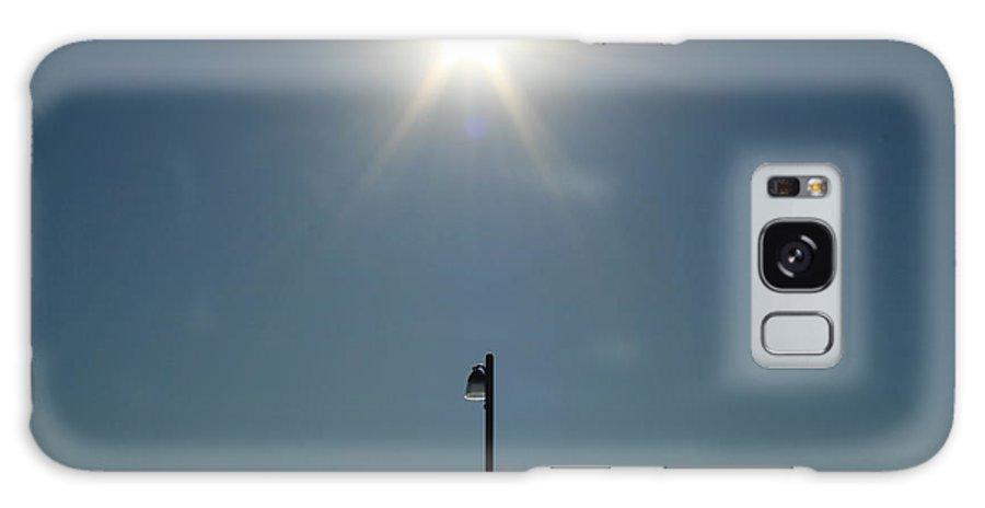 Sun Galaxy S8 Case featuring the photograph Sun Post by Joshua Sunday