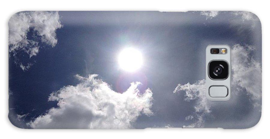 Sun Galaxy S8 Case featuring the photograph Sun Shine by Meshella Ungaro