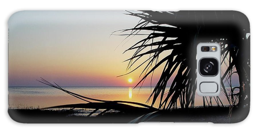 Sunset Galaxy S8 Case featuring the photograph Sun Touched by Debbie May
