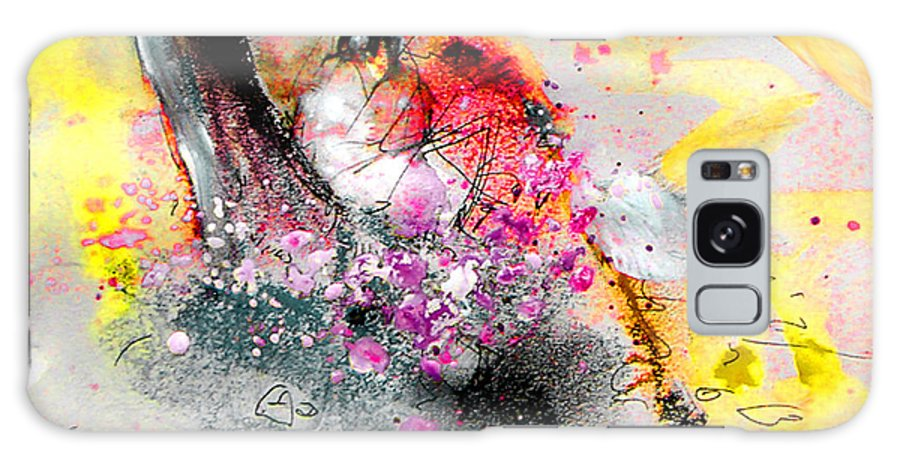 Pastel Painting Galaxy Case featuring the painting Sunday By The Tree by Miki De Goodaboom